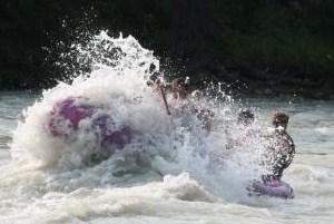 これぞ White Water Rafting