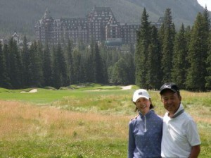 No.14 (411Y, Par-4) 多分、多くの Golfer が此処で写真を