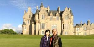 20130613-Glengorm Castle-Aki&Harue-Web