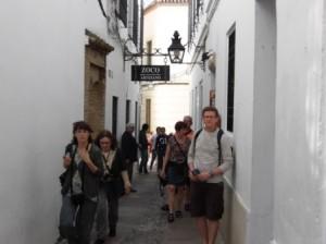 2.Cordoba 旧市街-ここを運転
