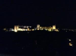 10.宮殿のライトアップ